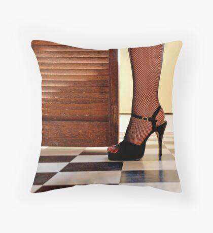 Kitchen Stilettos Throw Pillow