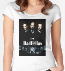 BadFellas Women's Fitted Scoop T-Shirt