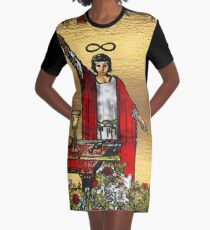 Tarot Gold Edition - Major Arcana - The Magician Graphic T-Shirt Dress