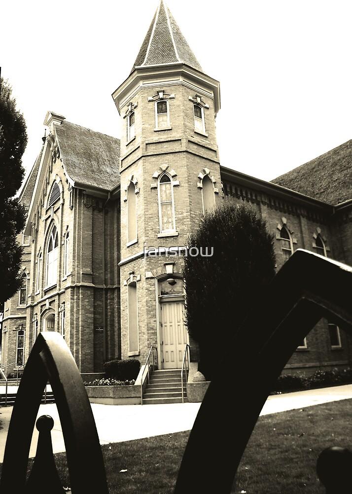 Old Church by jansnow