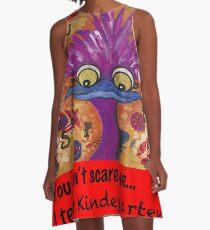 kindergarten teachers A-Line Dress