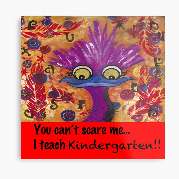 kindergarten teachers Metal Print