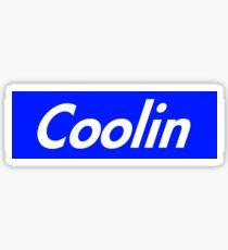 Coolin Supreme Sticker