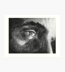 Distant Stare Art Print