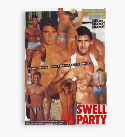 Swell Party Canvas Print
