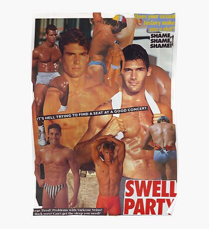 Swell Party Poster