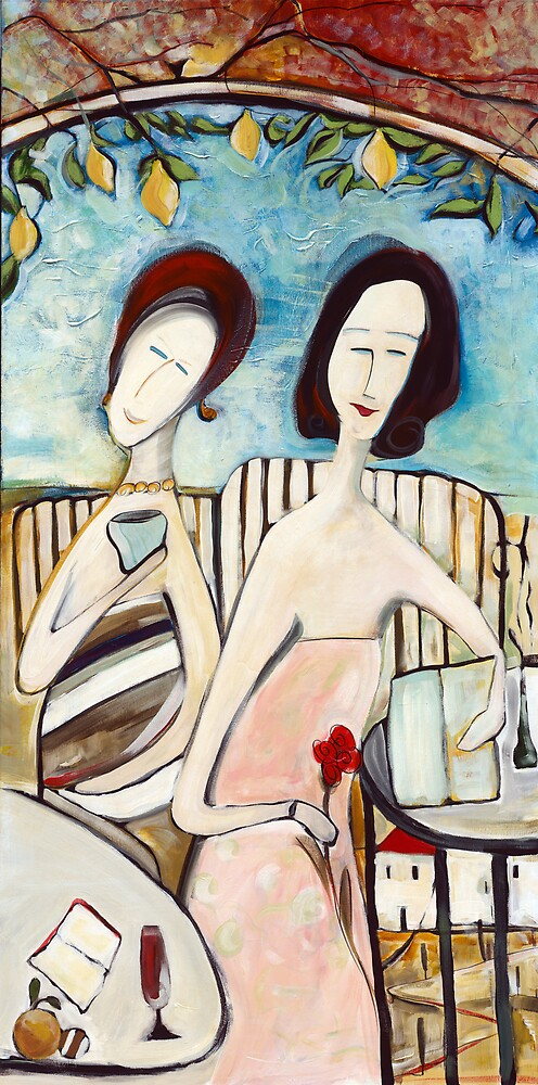 The Morning Graces - Panel B by Michele Righetti
