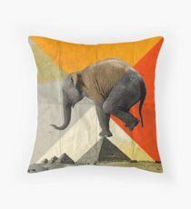 Balance of the Pyramids Throw Pillow