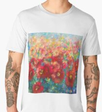 Floral Abstract Men's Premium T-Shirt