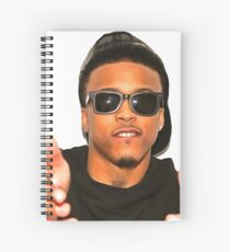 August alsina spiral notebooks redbubble august alsina spiral notebook altavistaventures Images