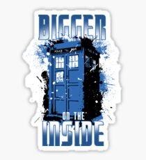 Bigger on the Inside Sticker