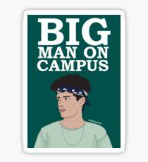 Michael Conor Big Man on Campus Design Sticker