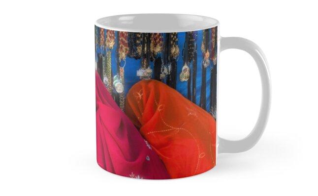 Rajasthani Shopping Spree - Mug by Glen Allison