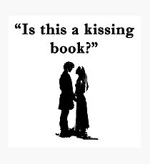 Is This a Kissing Book Photographic Print
