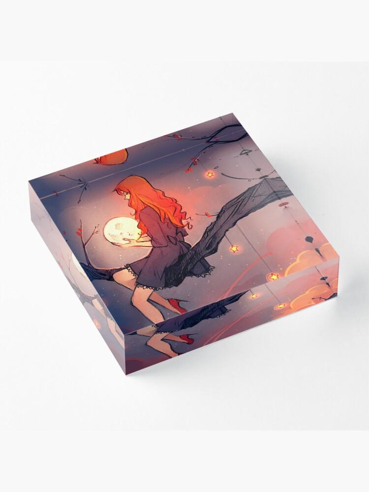 Alternate view of Like the Stars Acrylic Block