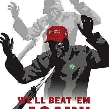 Wir schlagen sie vorher, wir schlagen sie wieder! von dru1138