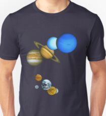 THE PLANETS Unisex T-Shirt