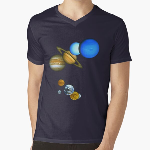 THE PLANETS V-Neck T-Shirt