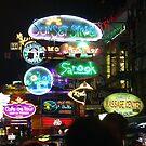 Night shot - Bangkok by Maureen Brittain