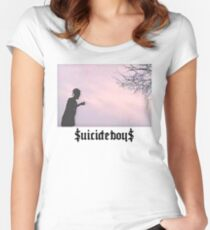 Suicide Boys 1 Women's Fitted Scoop T-Shirt