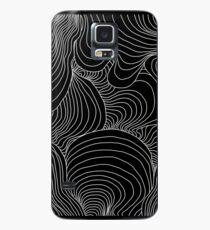 Indie Wellen Design Hülle & Klebefolie für Samsung Galaxy