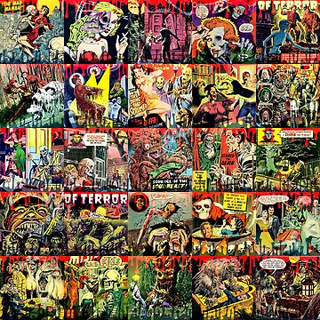 Creepy Comic Collage by adamcampen