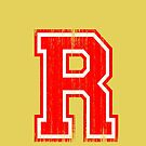Big Red Letter R by adamcampen