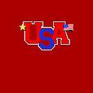 USA Pride by adamcampen