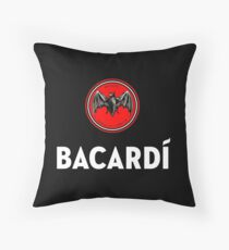 bacardi Throw Pillow