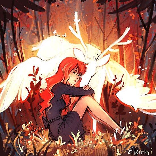 Heart of Fall by Elentori