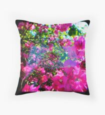 Pink Divine Throw Pillow