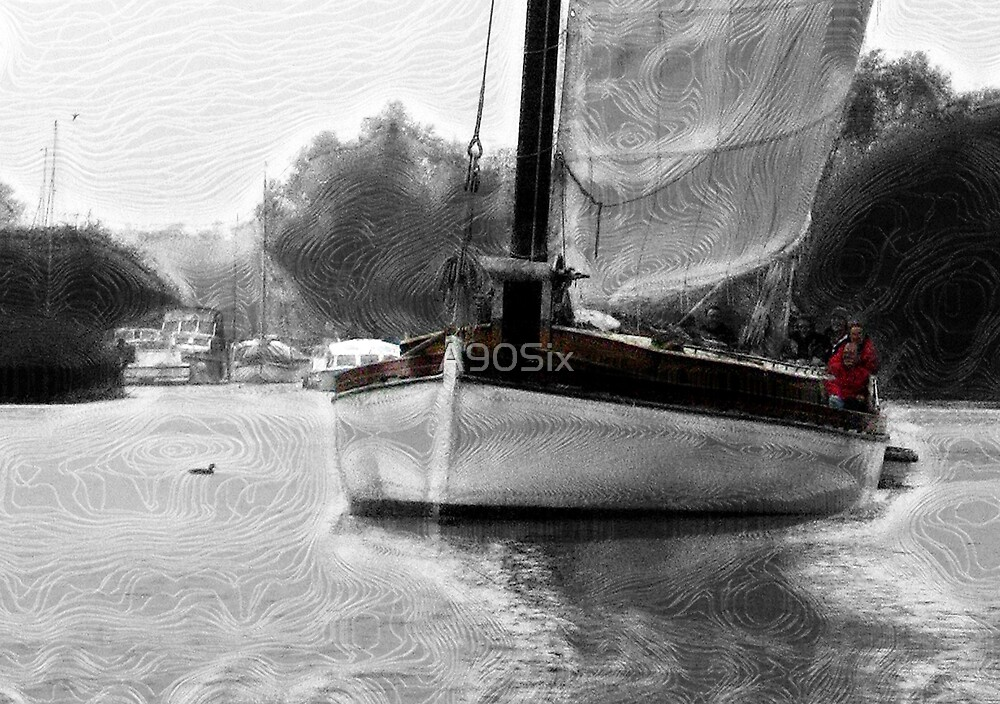 Yachting on the Broads by A90Six