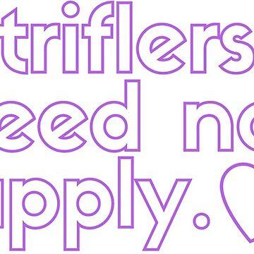Triflers Need Not Apply in Purple – My Favorite Murder Podcast by heykimberlea