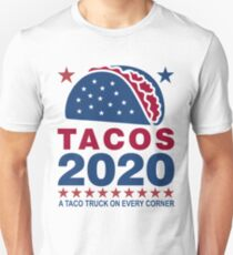 Vote Tacos in 2020 Slim Fit T-Shirt