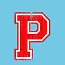 Big Red Letter P by adamcampen