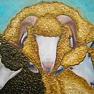 The Three Sheep by Julie  Sutherland