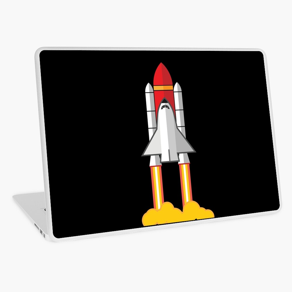 Rockets Barcode White Vinyl Car Decal New Gift