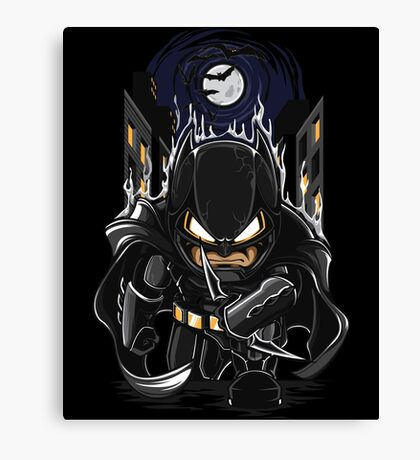 Dark Night Watcher Canvas Print