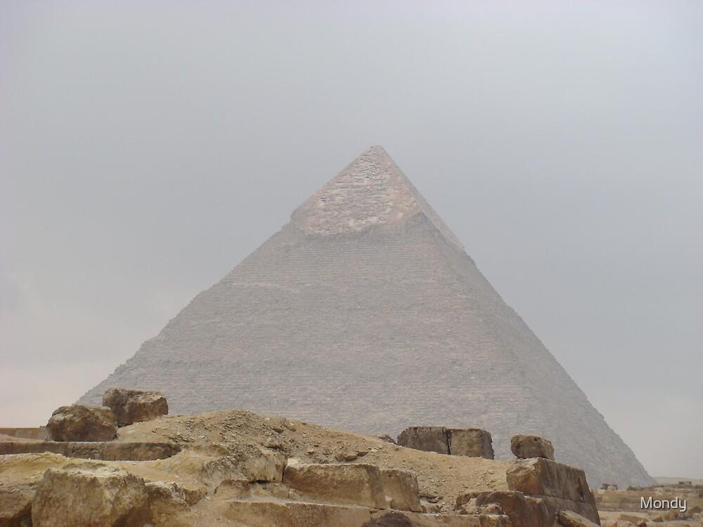 The Pyramids by Mondy