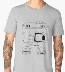 E-Type Blueprint Men's Premium T-Shirt