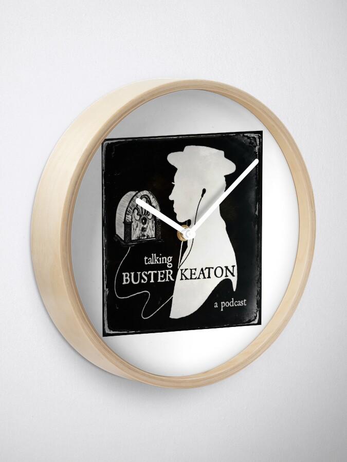 Alternate view of TBK Official Logo Clock