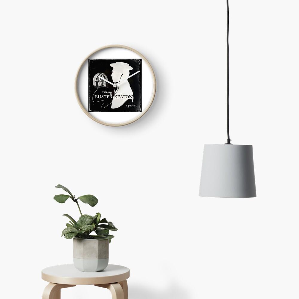 TBK Official Logo Clock