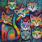 Magic Cats 17 by Karin Zeller