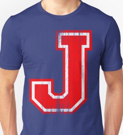 Big Red Letter J T-Shirt