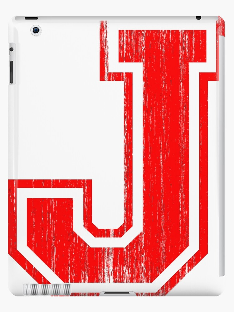 Big Red Letter J