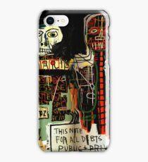 Jean-Michel Basquiat - Notary 1983 iPhone Case/Skin