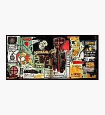 Jean-Michel Basquiat - Notary 1983 Photographic Print
