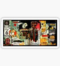 Jean-Michel Basquiat - Notary 1983 Sticker