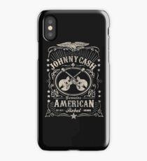 johnny cash iPhone Case