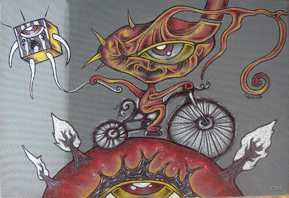 bike on earth by coni